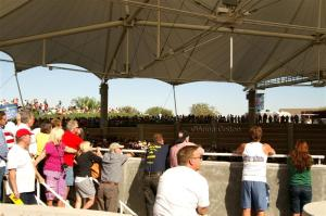Crowd in the Henderson Pavilion