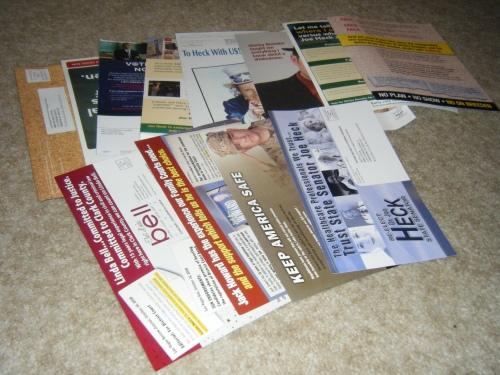 Political Junk Mail