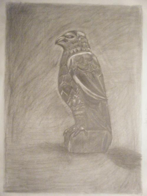 Falcon in Graphite