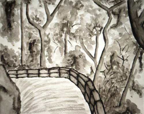 Zion Path Watercolor