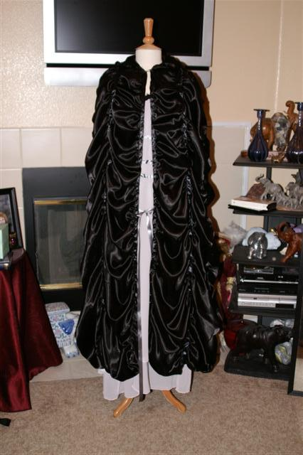 Lily Munster Costume Cape