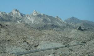 Scenery Along 163 into Laughlin